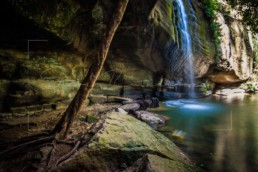 Sacred Pool, Sunshine Coast - Steve Rutherford Landscape Photography Art Gallery