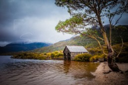 Boat Shed, Cradle Mountain - Steve Rutherford Landscape Photography Art Gallery