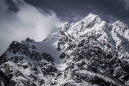 Peak, Remarkables, NZ - Steve Rutherford Landscape Photography Art Gallery