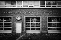 Fire Station One, Portland, Oregon - Steve Rutherford Landscape Photography Gallery