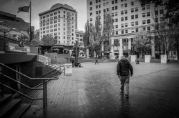 Pioneer Square, Portland, Oregon - Steve Rutherford Landscape Photography Art Gallery