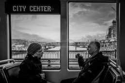 TriMet Travellers, Portland, Oregon - Steve Rutherford Landscape Photography Art Gallery