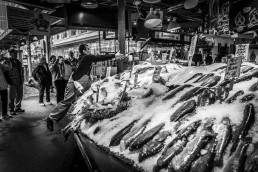 Fish Tossing, Pike Place, Seattle - Steve Rutherford Landscape Photography Gallery