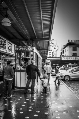 Rainy Day Out, Seattle, Washington - Steve Rutherford Landscape Photography Gallery