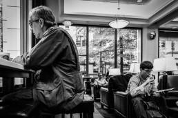 Macchiato Men, Seattle, Washington - Steve Rutherford Landscape Photography Gallery