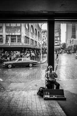 Rainmaker's Symphony, Pike Place, Seattle - Steve Rutherford Landscape Photography Gallery