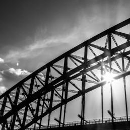 Sparkle, Sydney Harbour Bridge, Australia - Steve Rutherford Landscape Photography Gallery