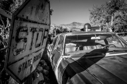 Old Trooper, Peach Springs, Arizona - Steve Rutherford Landscape Photography Gallery