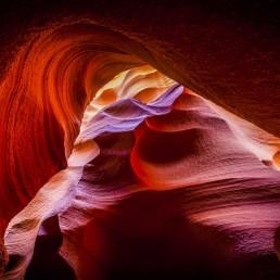 Shrouded, Antelope Canyon, Arizona - Steve Rutherford Landscape Photography Art Gallery