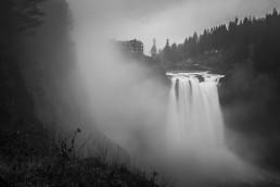 Snoqualmie Falls Mist, Washington - Steve Rutherford Landscape Photography Art Gallery