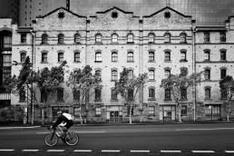 Cyclist, Millers Point, Sydney - Steve Rutherford Landscape Photography Gallery