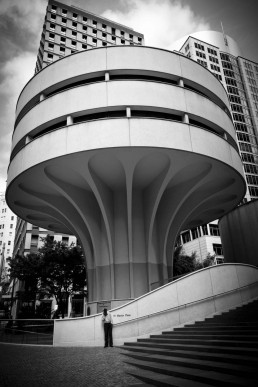 Concrete Umbrella, Martin Place, Australia - Steve Rutherford Landscape Photography Gallery